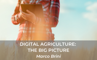 Digital Agriculture Introduction: the big picture